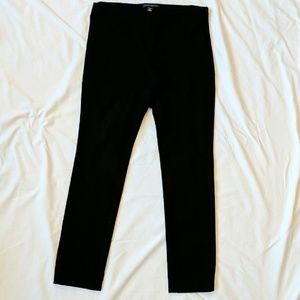 Banana Republic stretch black pants size 8